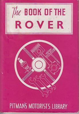 ROVER 10HP & 12HP SALOON ( 1933 - 1938 ) OWNERS REPAIR HANDBOOK * VGC *