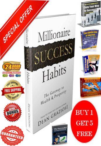 Millionaire Success Habits Ebook PDF+5 Bonus Success Ebooks Master Resell Right