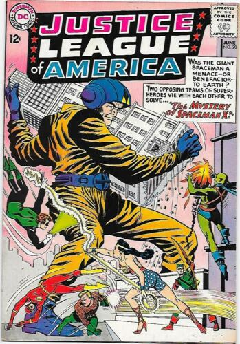Justice League of America #20 DC 1963 Fox/Sekowsky  VG/FN