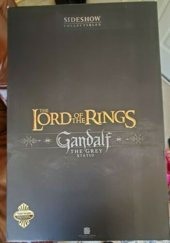 LOTR Sideshow Gandalf The Grey Polystone EXCLUSIVE Lord of the Rings #334/400