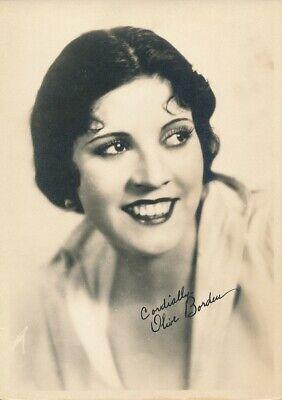 OLIVE BORDEN Original Vintage 1920s Silent Starlet