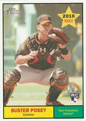 - 2010 TOPPS HERITAGE ROOKIES ****SAVE $3.00+ WITH ****FREE SHIPPING****