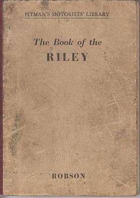 RILEY 9 NINE , 1.5 LITRE , RMA & RMB SALOON (1936-1952) OWNERS REPAIR HANDBOOK