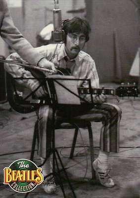 Schnurrbart Und Gläser (John Lennon Trägt ein Schnurrbart und Wire-Rimmed Gläser Beatles Sammelkarte)