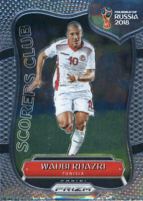 2018 Panini Prizm World Cup Scorers Club #28 Wahbi Khazri - NM-MT