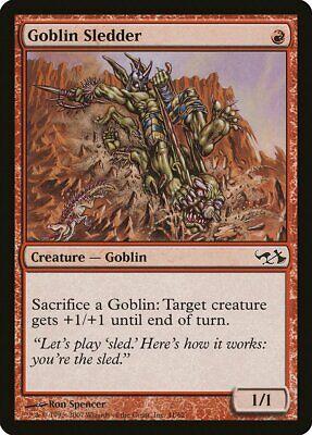 Goblin Sledder Elves vs. Goblins NM-M Red Common MAGIC GATHERING CARD ABUGames