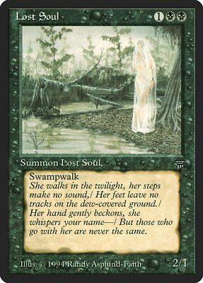 Lost Soul Legends NM-M Black Common MAGIC THE GATHERING MTG CARD ABUGames