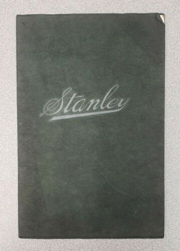 1912 Stanley Motor Carriage Sales Catalog