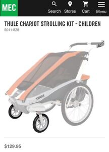 Wanted Thule Chariot Cougar Strolling Wheel Kit