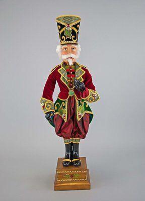 "Katherine's Collection Nutcracker Doll 32"" 28-728483 Christmas Nutcracker"