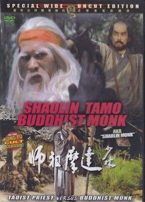 Shaolin Tamo Buddhist Monk-Hong Kong RARE Kung Fu Martial Arts Action