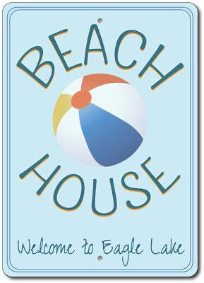 Beach Ball Sign, Beach House Sign, Custom Beach House Decor ENSA100056](Custom Beachballs)