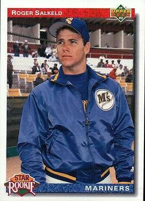 Roger Salkeld, Seattle Mariners, Baseball Trading Card - Not Postcard