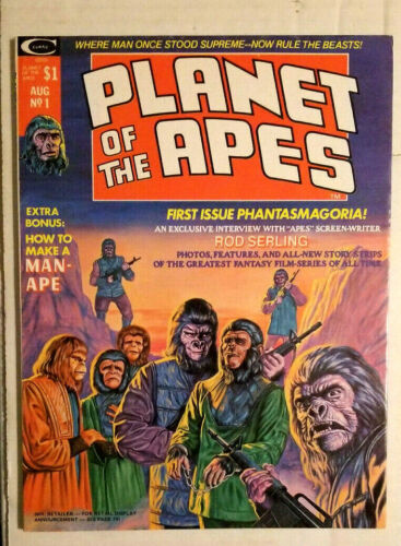 PLANET OF THE APES #1 MAGAZINE  1974