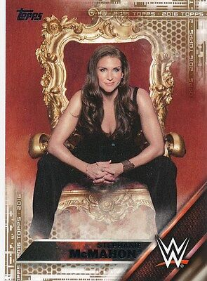 146 Stephanie Mcmahon 2016 Topps Wwe Then Now Forever Diva Bronze