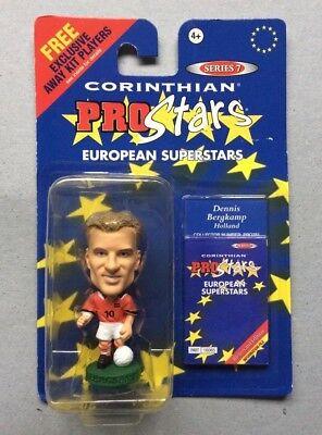 Dennis Bergkamp - Holland, Netherlands (Corinthian Figure Blister Pack [ProStars