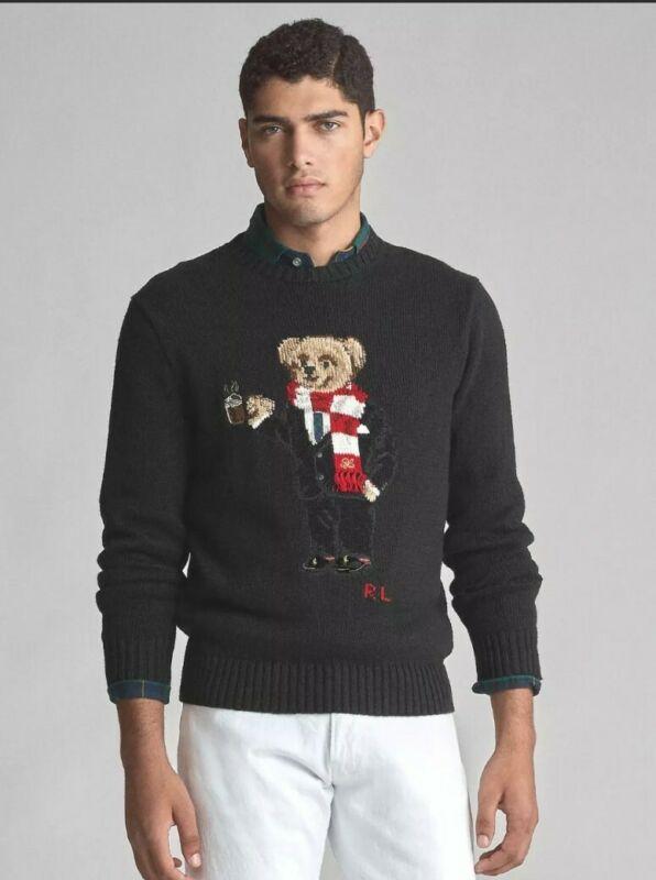 Ralph Lauren Polo Bear Sweater L