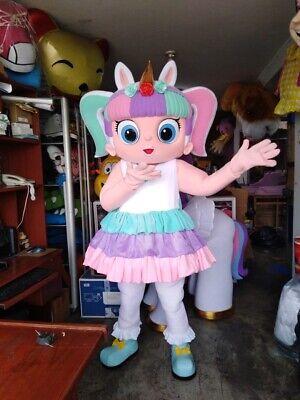 Einhorn Puppe Maskottchen Kostüm Party Charakter - Einhorn Maskottchen Kostüme