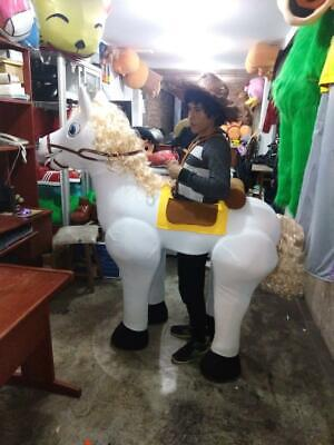 Horse White Animal Character Mascot Costume Cosplay  (Horse Mascot Costume)