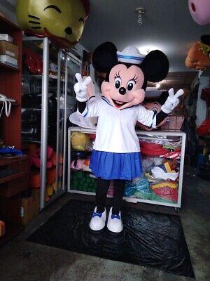 Minnie Maus Matrose Nautisch Maskottchen Kostüm Party Charakter Geburtstag