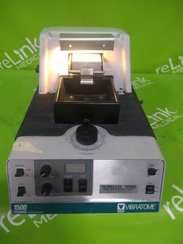 Pelco Vibratome 1500 TPI Sectioning System