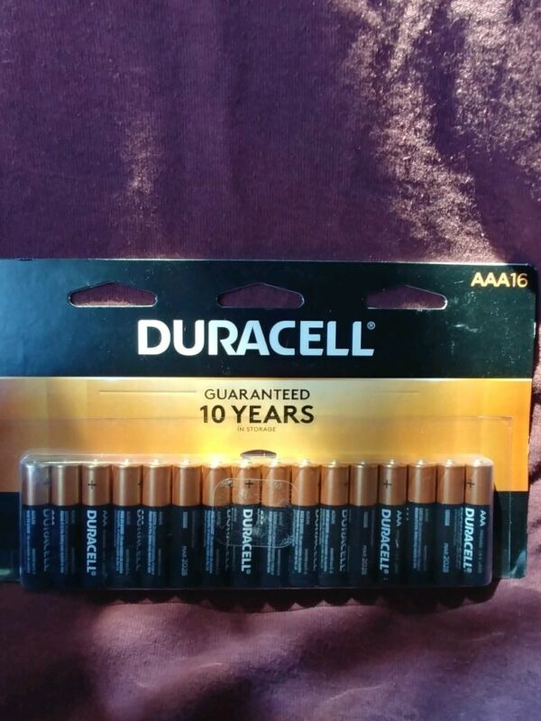 16 Count Duracell Aaa Batteries
