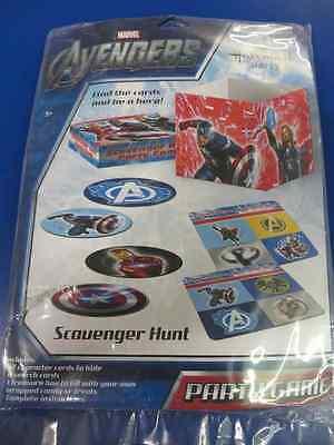 Avengers Assemble Marvel Comics Superhero Birthday Party Scavenger Hunt Game (Avengers Party Games)