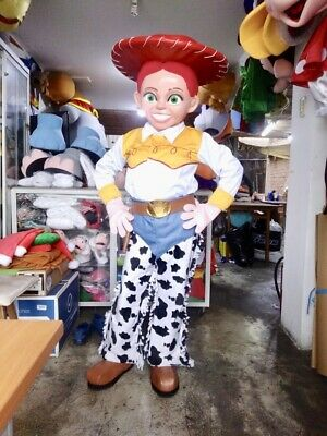 Jessie Cowgirl Jessy Toy Story Mascot Costume Party Character Birthday Halloween - Toy Story Characters Halloween Costumes