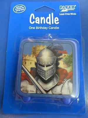 Valiant Knight Medieval Dragon Decoration Birthday Party Molded Cake Candle