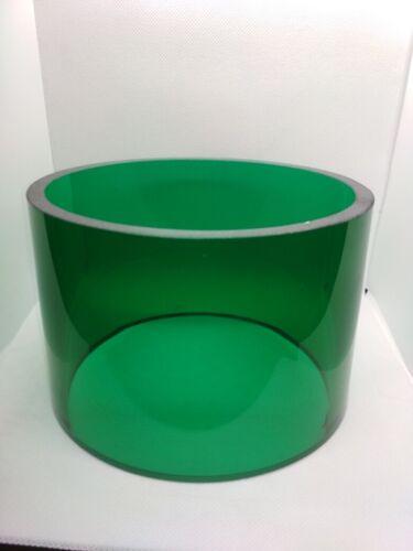 1pcs. Fresnel lens for marine, warning light.green.USSR, Vintage, original