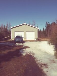 Garage and property for sale
