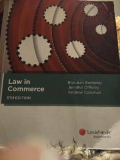 Law in commerce 6th edition textbooks gumtree australia banyule law in commerce book 5th edition fandeluxe Image collections