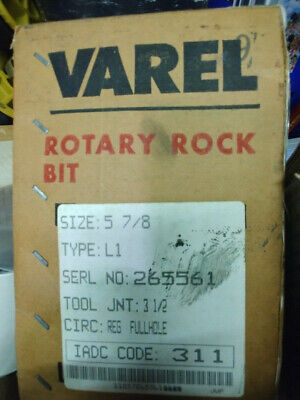 New Varel Rotary Rock Bit 5 78