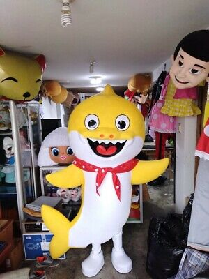 Character Halloween Costumes For Babies (For Rent Yellow Baby Shark Mascot Costume Party Character Birthday)