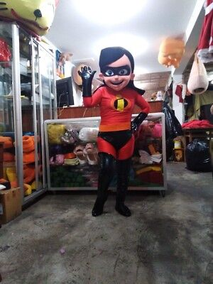 Violet Parr The Incredibles Mascot Costume Halloween Party Character Birthday](Violet The Incredibles Halloween Costume)
