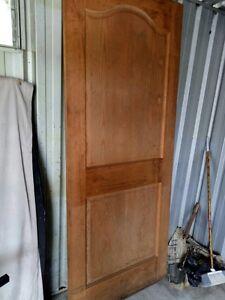Wood door St Marys Penrith Area Preview