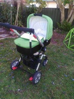 Luxury toddler baby jogger pram