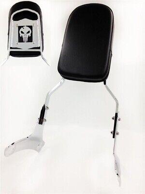 Skull Backrest Sissy Bar For 1997-2003 Honda Shadow ACE 750 VT750/ 1997-2003 Hon