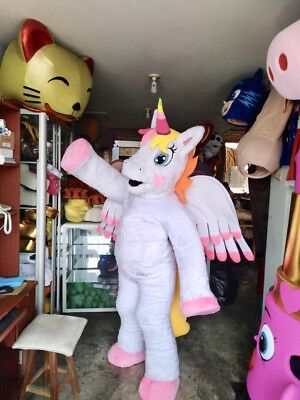 My Little Pony Golden Delicious Weiß Rosa Einhorn - Einhorn Maskottchen Kostüme