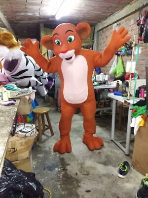 Nala Character of Lion King Mascot Costume Cosplay Brown - Nala Lion King Halloween Costume