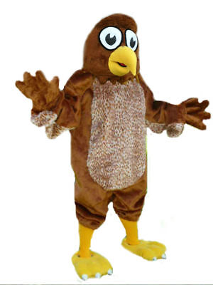 Cutie Hawk low cost Mascots USA premium lovable custom Costume by CJs Huggables