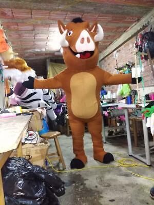 Pumbaa The Lion King Charakter Maskottchen Kostüm Braun