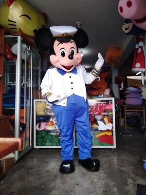 Mickey Mouse Sailor Nautical Mascot Costume Party Character Birthday - Mickey Mouse Costume Halloween