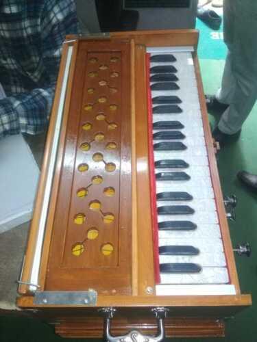 Harmonium 7 Stopper Double Bellow 39 Key 440Hz Long Sustain Sound