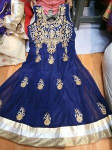 Indian ladies outfits sizes 44to54 plus buy now anarkali gowns b