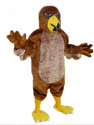 Hawk low cost Mascots USA premium eye-catching custom Costume by CJs Huggables