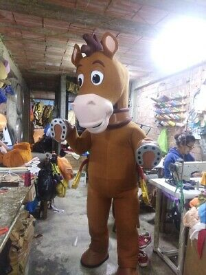 Bullseye Woody Horse Toy Story Mascot Costume Party Character Halloween Cosplay - Toy Story Characters Halloween Costumes