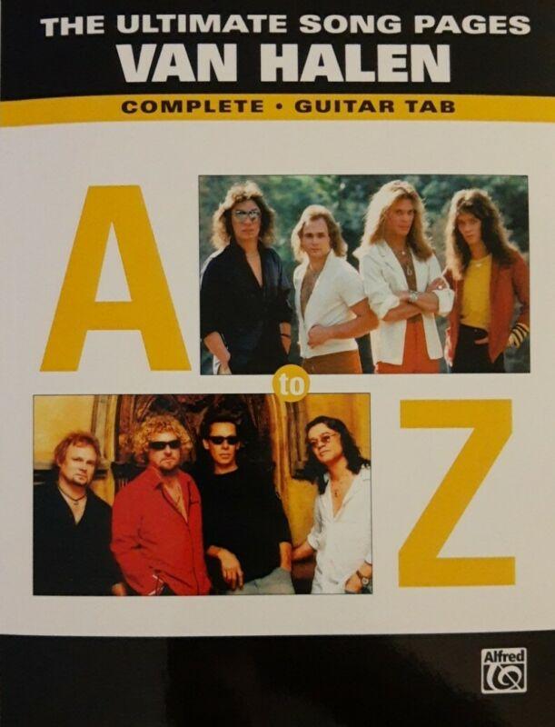 VAN HALEN GUITAR TAB / TABLATURE  / 11 COMPLETE ALBUMS & MORE / SONGBOOK