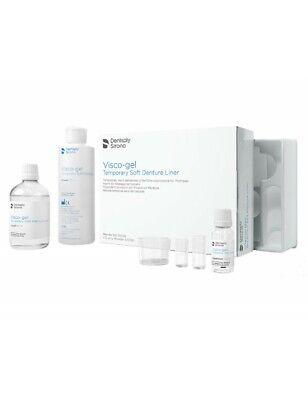 Dentsply Visco Gel Temporary Soft Denture Liner Material Kit 61605002