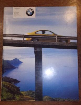 2002 BMW Z3 M Roadster & MCoupe E46 M3 & M3 Cabrio  E39 M5 Brochure